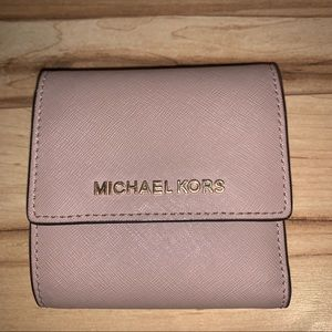 Michael Kors Bags - Light Pink/ Beige Michael Kors Wallet